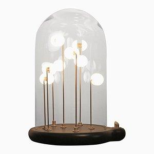 Lampada Germes De Lux dorata di Thierry Toutin