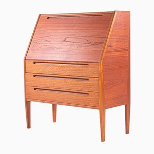 Secretaire in Teak by Nils Jonsson for HJN Mobler, 1960s