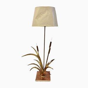 Lámpara de pie de caña de Christian Téchouergues para Circa, años 70