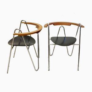 Armchairs, 1980s, Set of 2