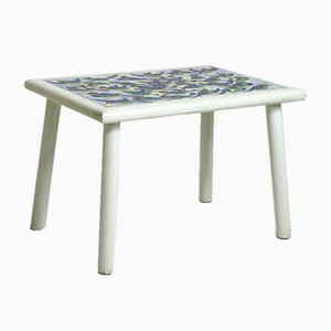 Dänischer Tisch mit gefliester Platte, 1957