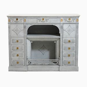Antique Sideboard with Marble Top