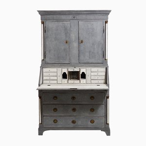 Antique Gustavian Three-Part Bureau