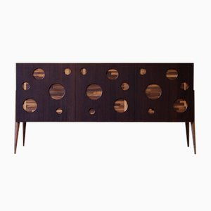 Oiled Natural Walnut CERCHI Sideboard from DALE Italia