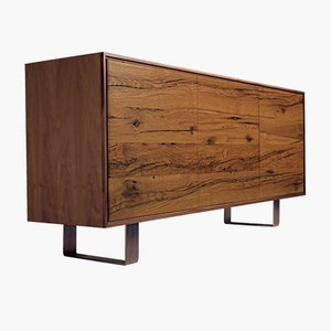 Oiled Natural Walnut ROVERE ANTICO Sideboard from DALE Italia