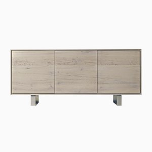 Oiled Natural Grey Walnut Rovere Antico Sideboard from DALE Italia