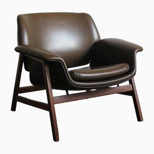 Modell 849 Armlehnstuhl von Gianfranco Frattini für Cassina, 1956