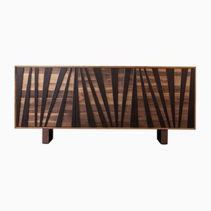 Oiled Natural Walnut VENTAGLIO Sideboard from DALE Italia