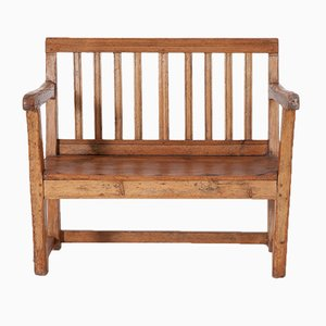 Small Antique Country Bench
