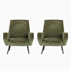 Lounge Chairs by Gianfranco Frattini for Arflex, 1950s, Set of 2
