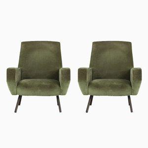 Sessel von Gianfranco Frattini für Arflex, 1950er, 2er Set