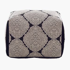 Grande Ottomane Bao avec Tissu Réversible par Viola Tonucci pour Tonucci Manifestodesign