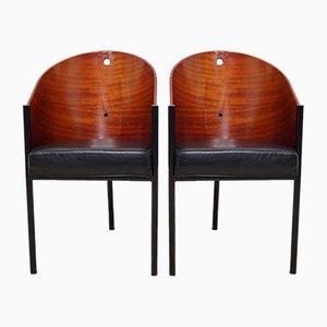 Costes Stühle von Philippe Starck für Driade, 1980er, 2er Set