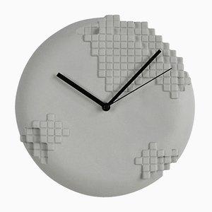 Orologio a muro Pixel di Studio Lorier