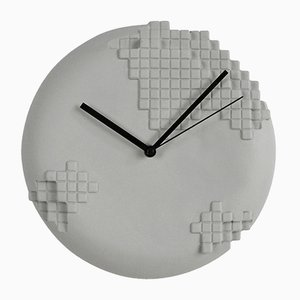 Pixel Wall Clock from Studio Lorier