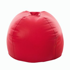 Red Boum Ottoman by Viola Tonucci for Tonucci Manifestodesign