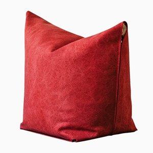 Pouf Mao rosso di Viola Tonucci per Tonucci Manifestodesign