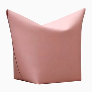 Light Pink Mao Pouf by Viola Tonucci for Tonucci Manifestodesign