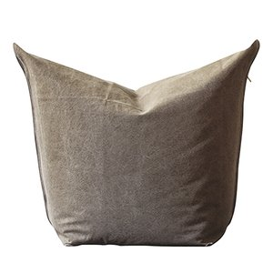 Grey Mao Beanbag by Viola Tonucci for Tonucci Manifestodesign