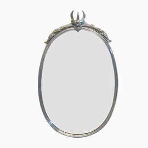 Miroirs avec Cygnes Vintage, Set de 2
