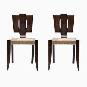 Moderne Stühle, 1920er, 2er Set