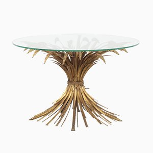 Französischer Weizenbündel Tisch, 1960er