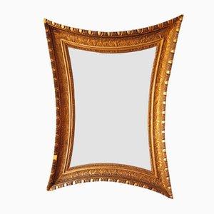 Konkaver antiker Spiegel