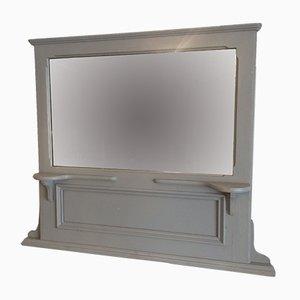 Espejo antiguo gris