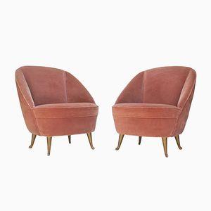 Kinder Beistellstühle von I.S.A Bergamo, 1950er, 2er Set
