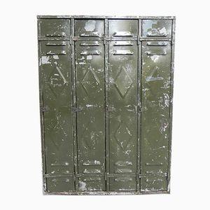 Industrial Four-Door Locker