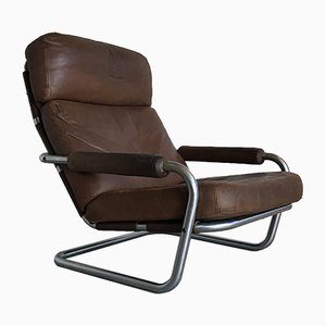 Meneer Oberman Lounge Chair by Jan des Bouvrie for De Ster Gelderland, 1970s