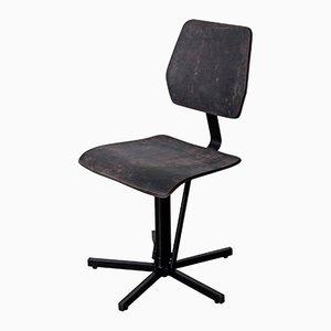 Kodak Leather Chair by Jesse Sanderson