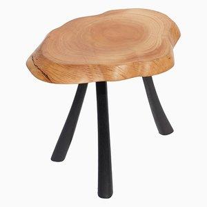 Tisch aus Mooreiche & Olivenholz von Jörg Pietschmann