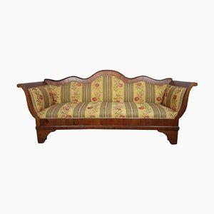Antikes Sofa aus Nussholz, 1820er