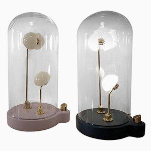 Lampade Germes de Lux di Thierry Toutin, set di 2