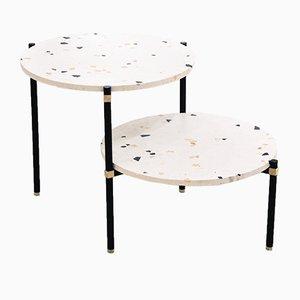 Tavolino da caffè doppio di CONTAIN