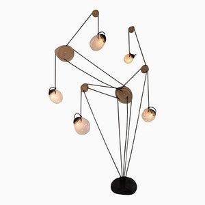 Skulpturale Mechanics of Fluids Lampe von Jérôme Pereira
