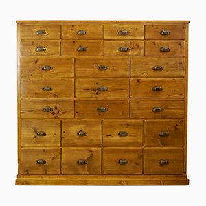 Large Apothecary Drawers Cabinet, 1930s