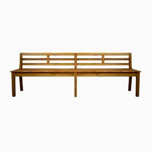 Large Antique Biedermeier Bench