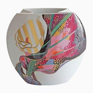 Vase Taurus Blossom par J.V.D. Vaart pour Rosenthal, 1980s