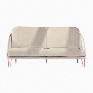 Agora Cream Sofa by Pepe Albargues