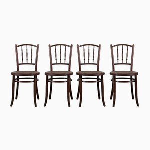 Vintage Chairs by Fischel, Set of 4