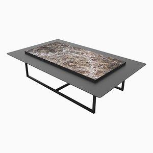Table Tungen en Marbre par Jan Garncarek