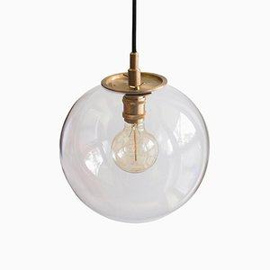 Emiter Brass Hanging Lamp by Jan Garncarek