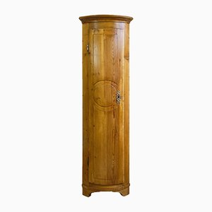 Slim 18th Century Baroque Corner Cabinet