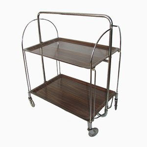 German Folding Bar Trolley from Gerlinol Bremshey & Co, 1960s