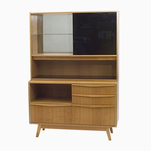 Vintage Cupboard with Bar by Bohumil Landsman for Jitona