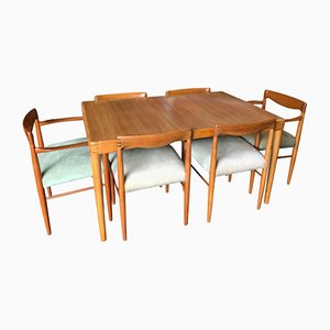 Dining Set by H.W. Klein for Bramin, 1960s