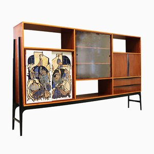 Cabinet by Alfred Hendrickx for Belform, 1950s