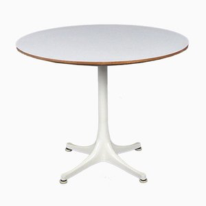 Mid-Century White Model 5452 Table by George Nelson for Herman Miller